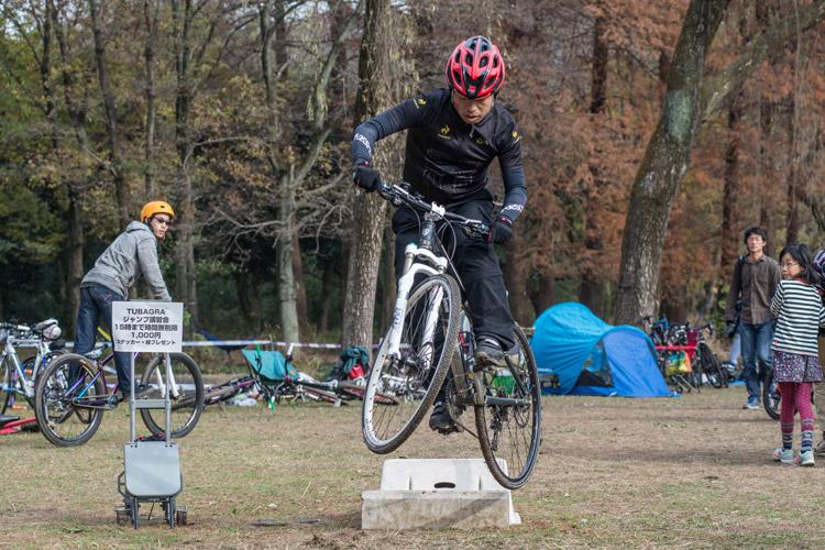 秋ヶ瀬の森バイクロア6 ジャンプ講習会