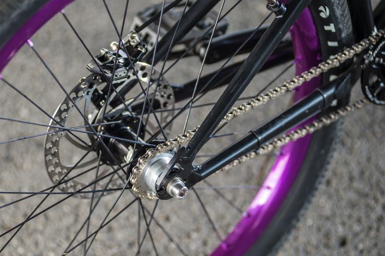 Mamboさんの特注SHAKA 24 トライアルバイク