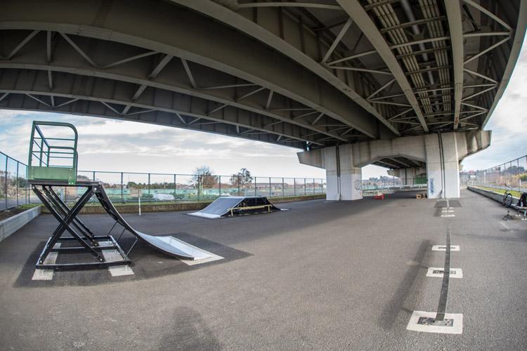 埼玉県の某スケートパーク