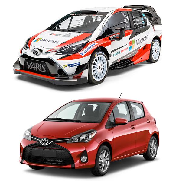 TOYOTA Yaris WRC & Vitz