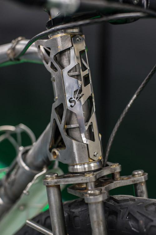 2017ハンドメイドバイシクル展に展示されているSunrise cyclesのMTB