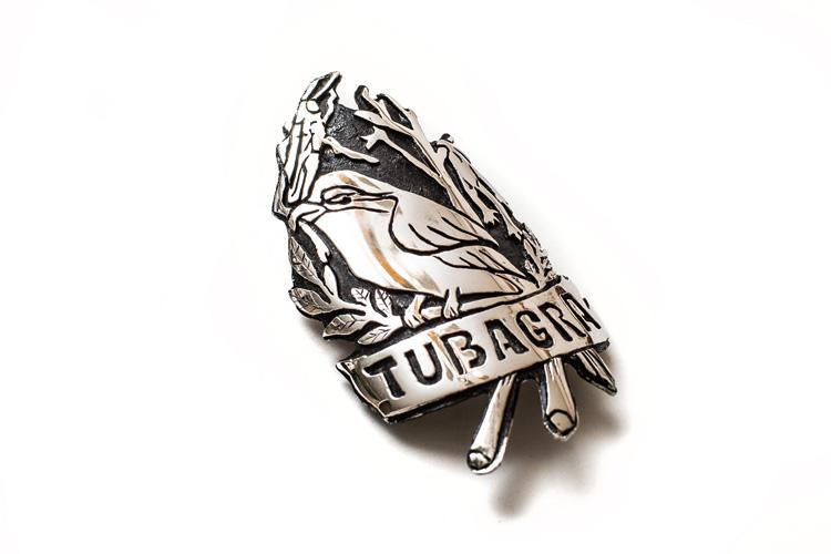 Rui & Aguri Fine Jewelry製MOZUヘッドバッジ シルバー