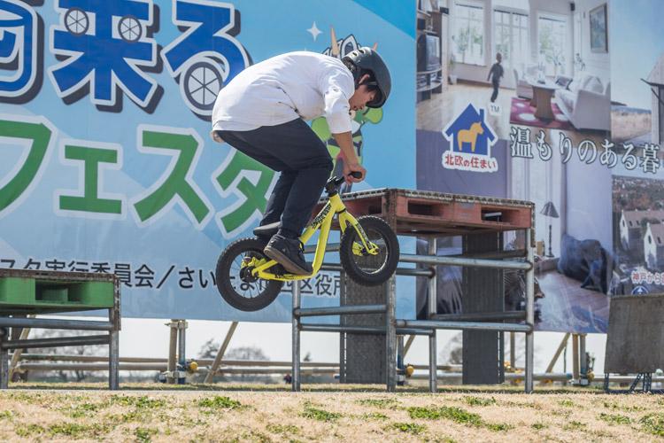 第4回西来るフェスタ TUBAGRA&安部健太 MTB&トライアルショー