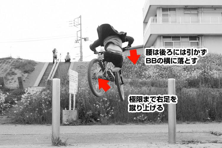 How to 斜め刺しバニーホップ