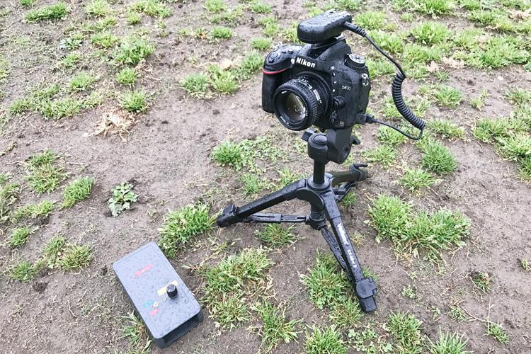 水没Nikon D610と散田(サンタ)式自撮りリモート機器 JTK3-L