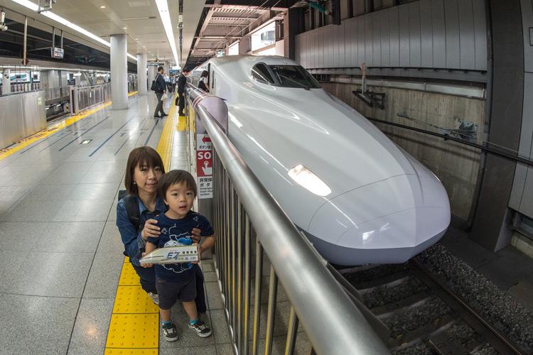 家族3人で京都〜大阪旅行