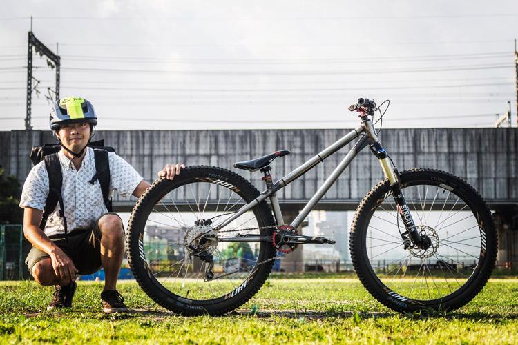 croMOZU275 3rd TEST多摩川河原サイクリングコース シクロワイアード撮り