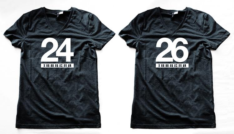 バニーホップフォトコンテスト賞品のTUBAGRA 24-26 Tシャツ
