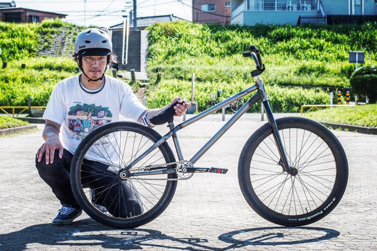 ご近所MTBストリートライダー松平さん SHAKA24 シクロワイアード撮り