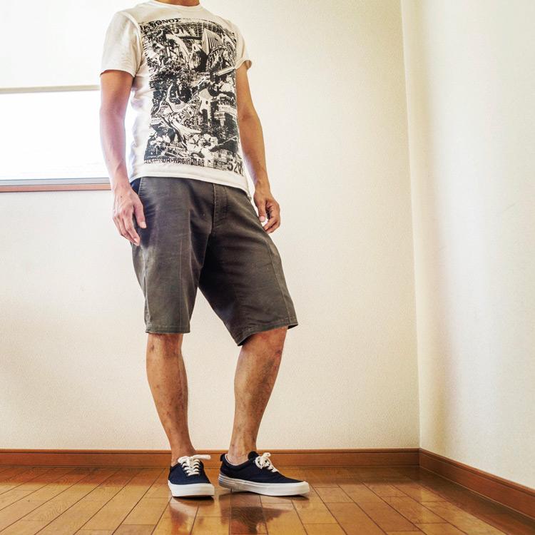 日本発スニーカーブランド SLACK(スラック) IDENT-LOWと52W NEWSPAPERのTシャツ