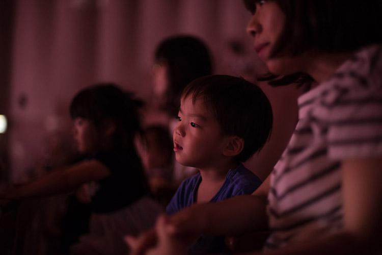 保育園のママ友のコンサートを観る叶大