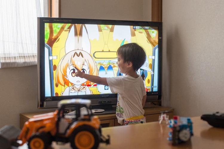 TVアニメ「けものフレンズ」を観る叶大