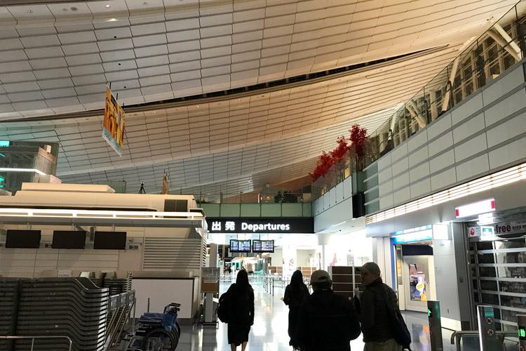 台中バイクウィーク2017 羽田空港国際線ターミナル