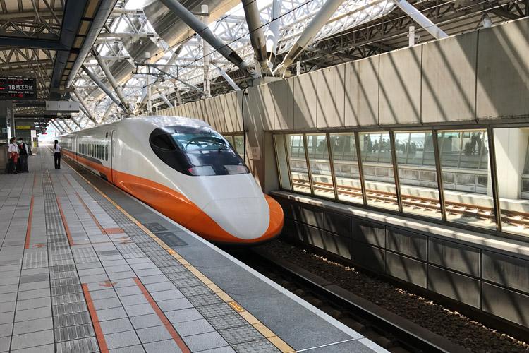 台中バイクウィーク2017 台湾高速鉄道 台湾新幹線
