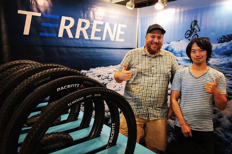 台中バイクウィーク2017 TERRENE TIREのボス TIMに会ってきました