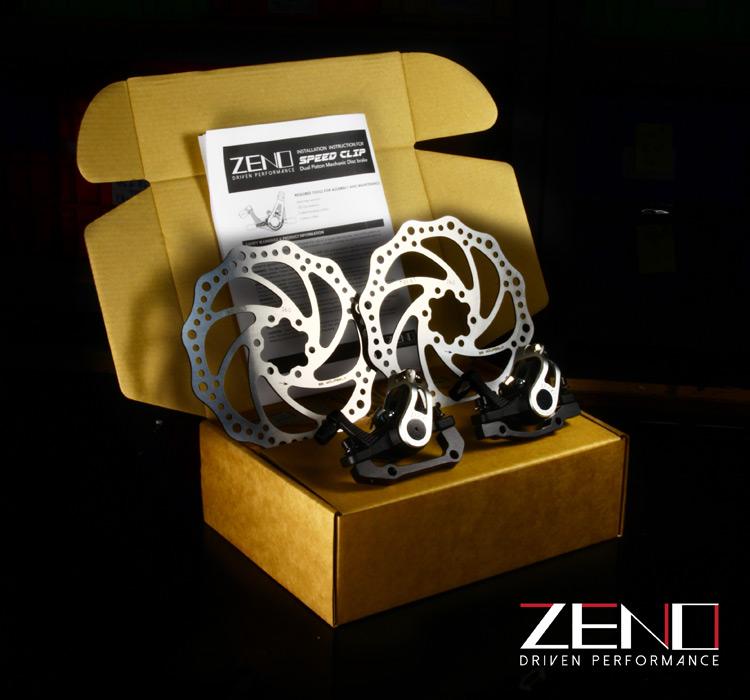 ZENO(ジーノ)の機械式ディスクブレーキセット