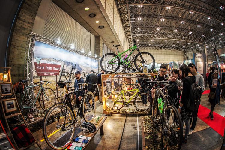 サイクルモード2017 Above Bike Store ブース