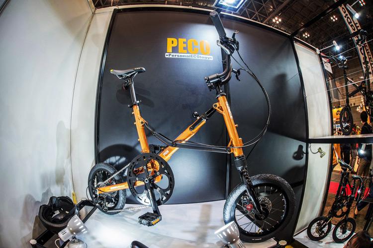サイクルモード2017 OX Engineering ブース PECO