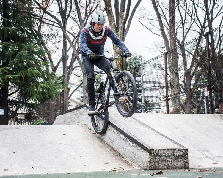 サモ世田谷公園SLスケートパーク アイスピックグラインド