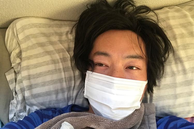 インフルエンザに苦しむサモ