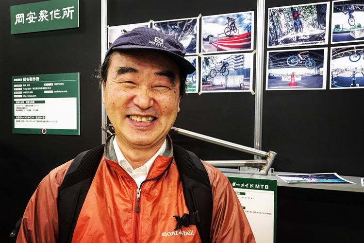 2018ハンドメイドバイシクル展 晴輪雨網 元祖X親父 小林さん