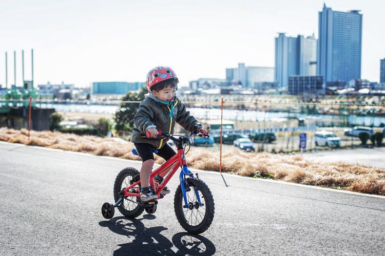多摩川サイクリングコース 叶大 ヨツバサイクル