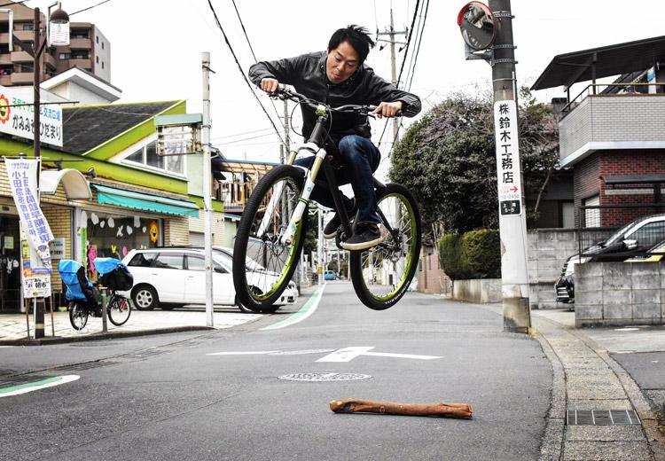 ウィルバイシクル Will bicycle 試乗車 akaMOZU ファイアークラッカー