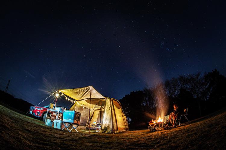 成田ゆめ牧場 冬キャンプ