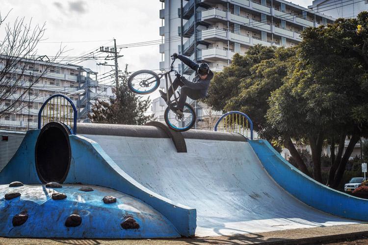 """24"""" Street Trial Frame TONE バイク太一君 公園遊具 フファニュ"""
