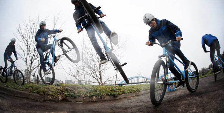 SHAKA 24 多摩川河原サイクリングコース バニーホップ180
