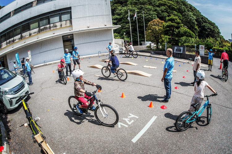 三浦半島マウンテンバイク・プロジェクト主催のマウンテンバイクを体験してみよう!@葉山まちづくり展