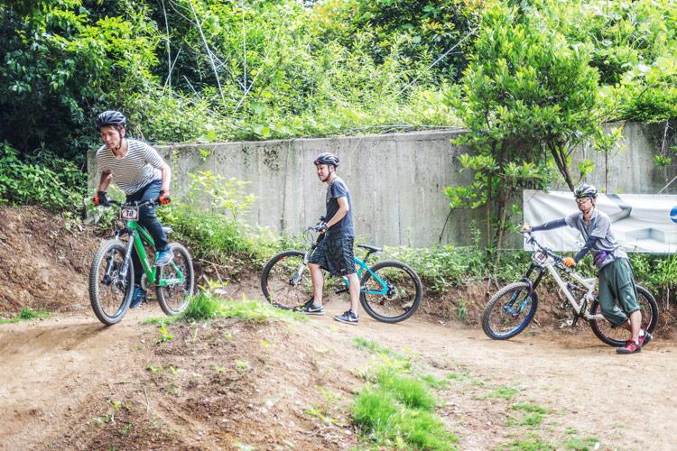 スマイルバイクパーク SBP 連続ジャンプコース