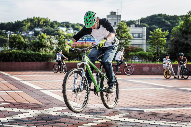 影山輪業 横須賀 上町店が主催 バニーホップ練習会 by TUBAGRA