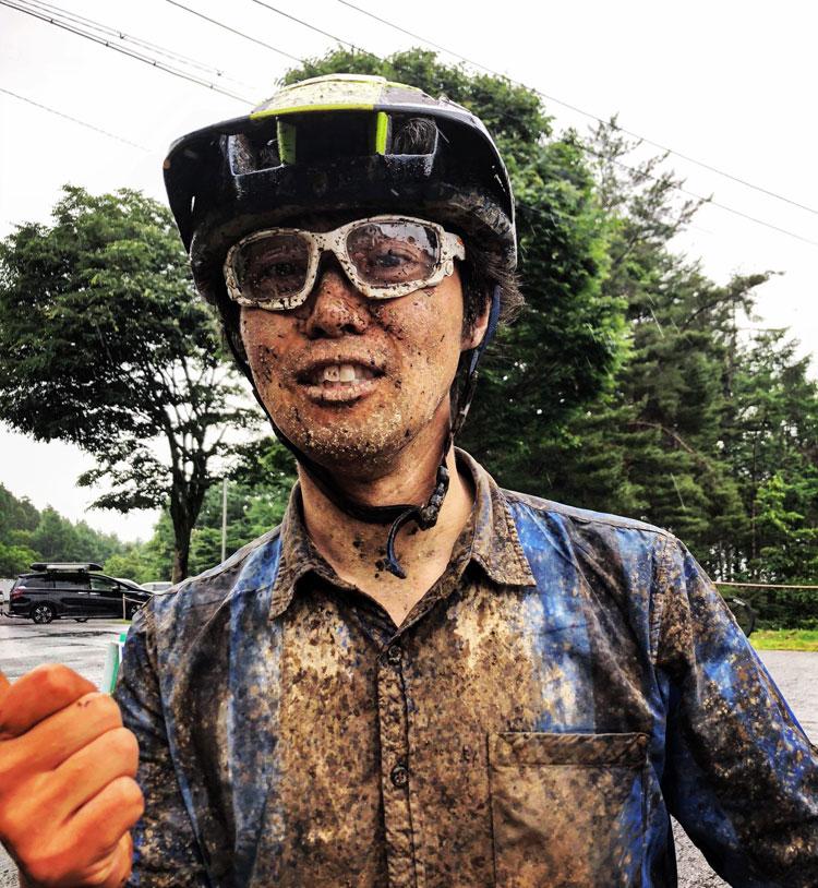 富士見パノラマ マッドコンディション 泥まみれのサモ ダウンヒル