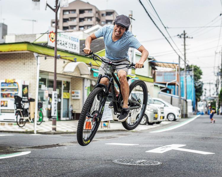 ウィルバイシクル Will bicycle 試乗車 EVIL FOLLOWING MB サモ バニーホップ