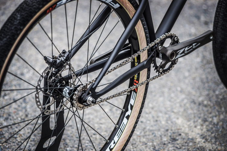 ウィルバイシクル Will bicycle akaMOZU完成車