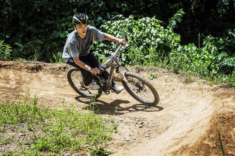スマイルバイクパーク スラロームコース レクチャー