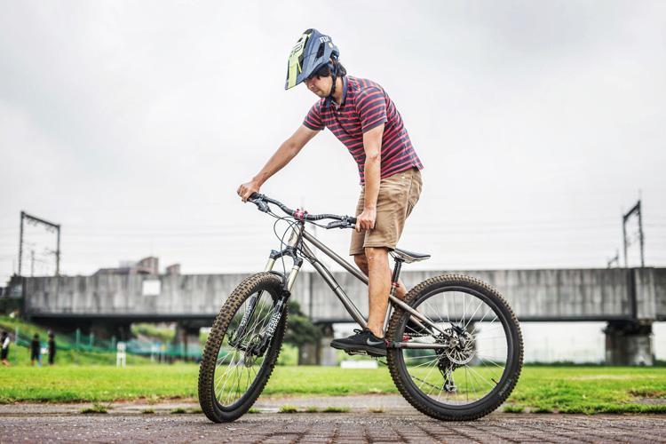 croMOZU275 5th 多摩川河原サイクリングコース スタンディング練習