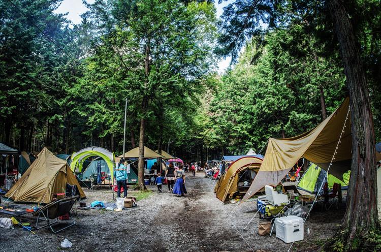 白州の杜べるが NU VILLAGE × べるが a potlatch camp