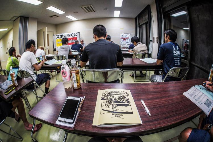 小田原 FOREST BIKE フォレストバイク 日本マウンテンバイク協会の指導者養成講座 座学