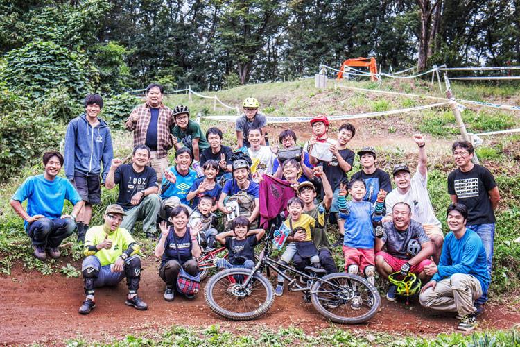 スマイルバイクパーク SMILEBIKEPARK 2018 AUTUMN SESSION 集合写真