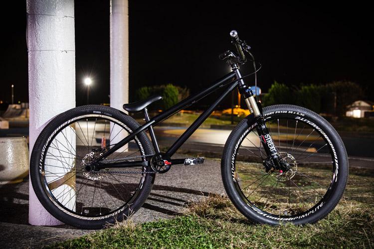 バイクチェックコンテスト 平林さんのakaMOZU ブラック