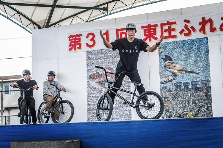 第31回東庄ふれあいまつり BMX&MTBショー 渓涼君