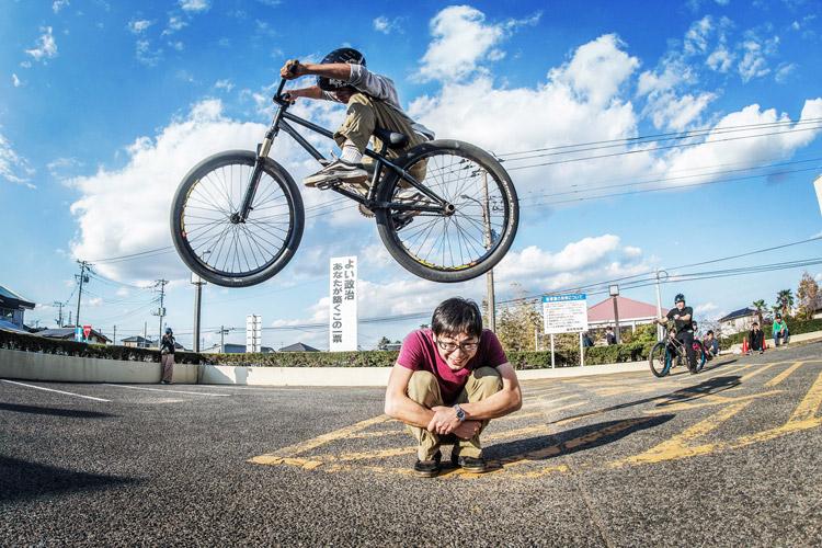 第31回東庄ふれあいまつり BMX&MTBショー YAMATO君