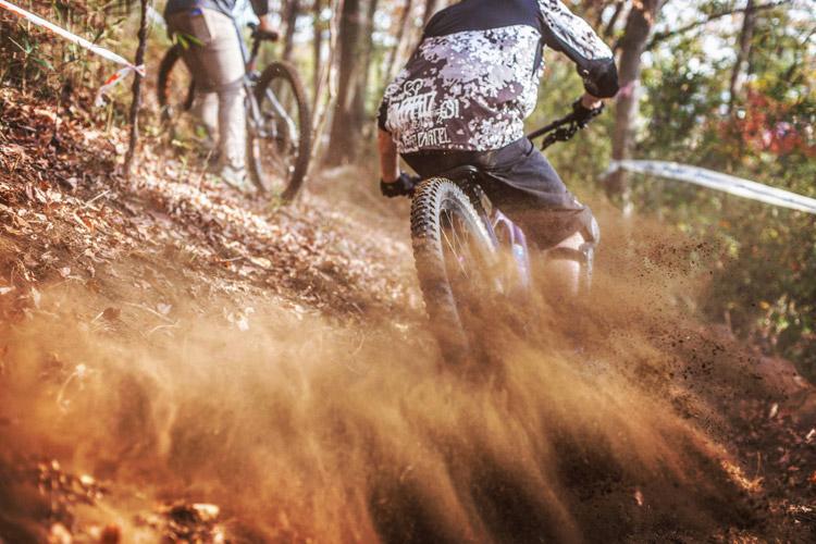 スマイルバイクパーク 超上級者コース トレイン