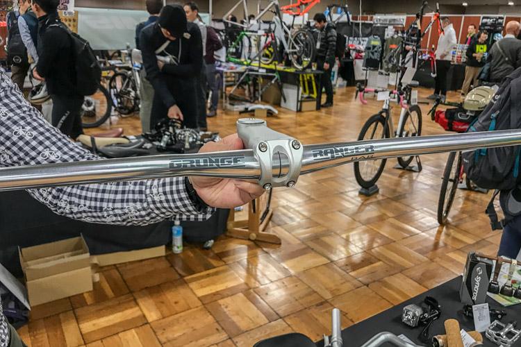 第三回サイクルパーツ合同展示会 GRUNGE ハンドルバー