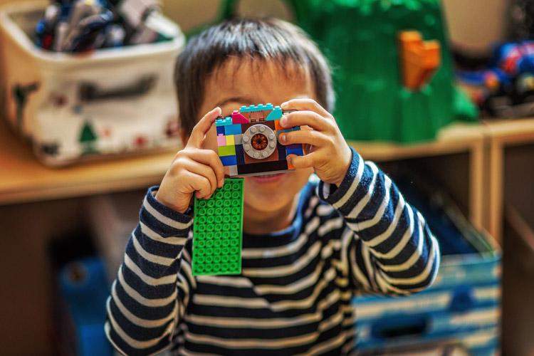 レゴでカメラを作った叶大