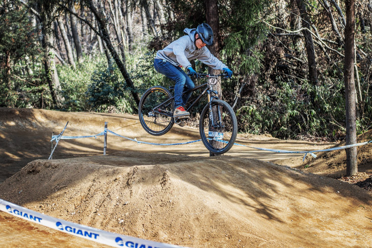 スマイルバイクパーク SBP 4連ジャンプ