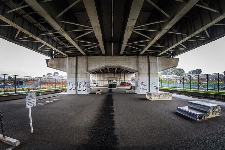 新見沼大橋スポーツ広場スケートパーク