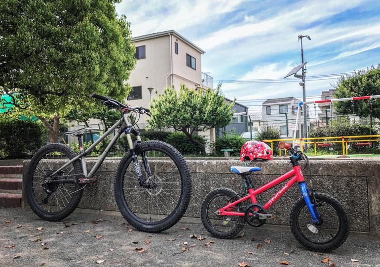 近所の公園 croMOZU275 YOTSUBA ヨツバサイクル YOTSUBA14